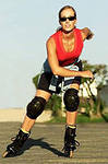 Как похудеть при помощи роликовых коньков?