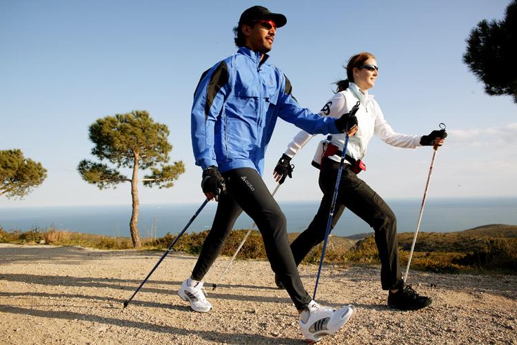 скандинавская ходьба для похудения, эффективность