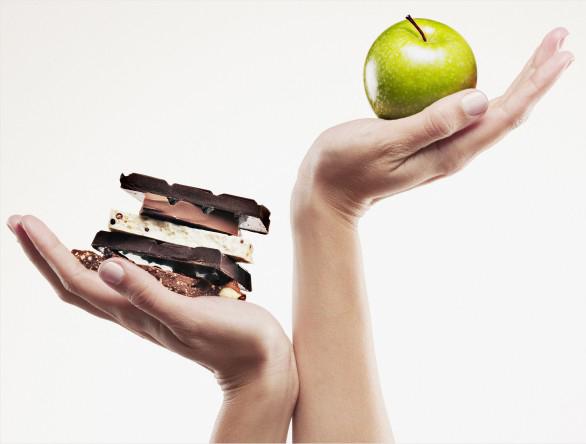 Принцип диеты 500/500