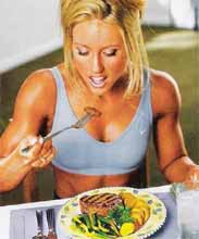 Правила диеты для мышц
