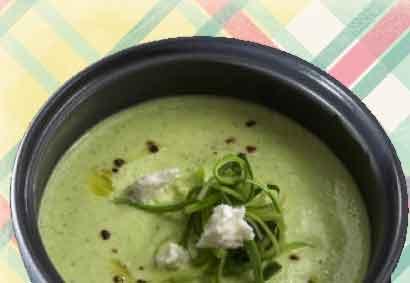 кремовый суп из кабачков