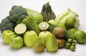 зеленая диета на овощах и фруктах