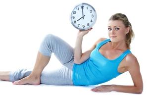 график тренировок для похудения на день