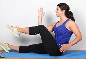 сжигать жир на животе а не мышцы
