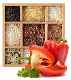 Диета для похудения на рисе с овощами